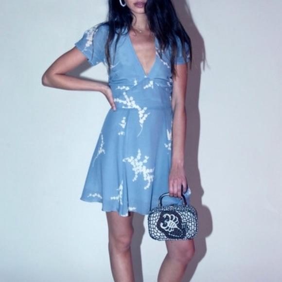 c32efc484bc73 realisation Par Dresses | Realization Par Luella Blue Dress | Poshmark
